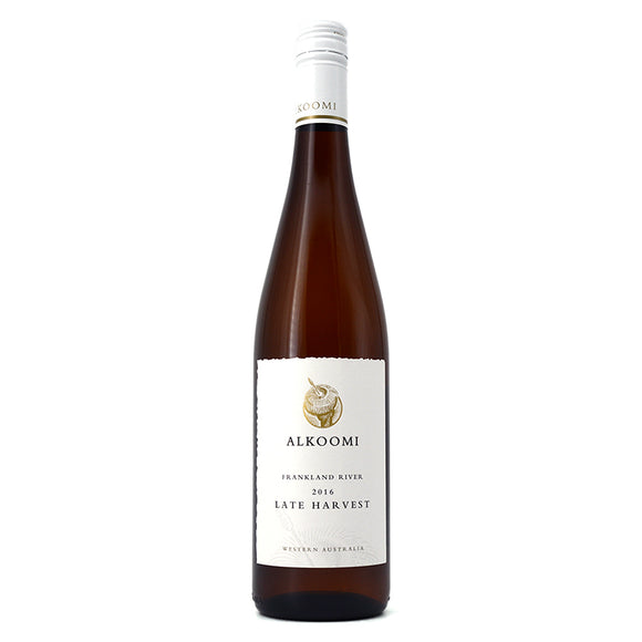 ALKOOMI FRANKLAND RIVER LATE HARVEST RIESLING