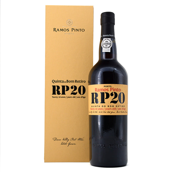 RAMOS PINTO 20 YEAR OLD TAWNY PORT 750ML
