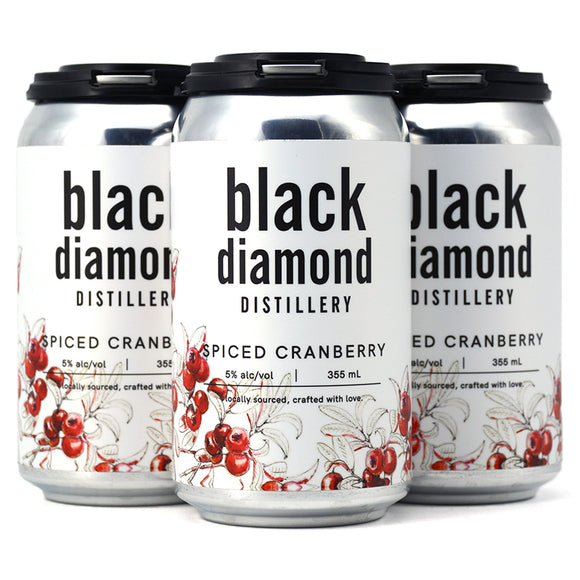 BLACK DIAMOND SPICED CRANBERRY VODKA SODA 4C
