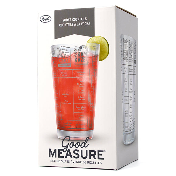 GOOD MEASURE VODKA COCKTAILS RECIPE GLASS
