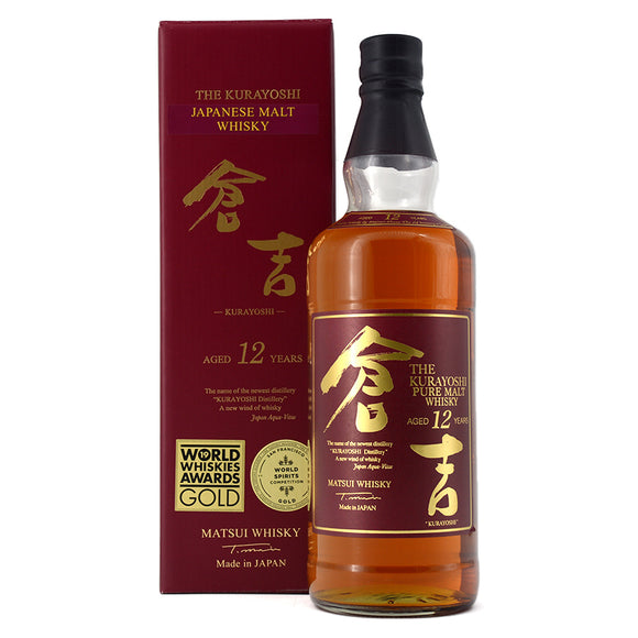 MATSUI THE KURAYOSHI PURE MALT WHISKY AGED 12 YEARS 700ML