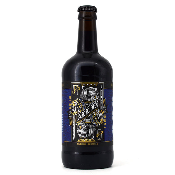 BELCHING BEAVER ALL IN BARREL AGED STOUT W COFFEE, MAPLE SYTRUP & VANILLA 500ML