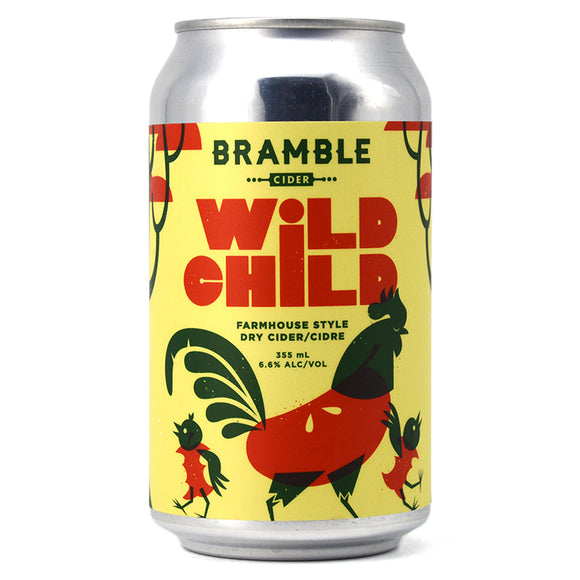 BRAMBLE WILD CHILD FARMHOUSE DRY CIDER 355ML
