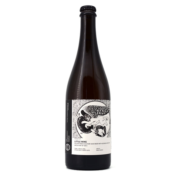 ESTABLISHMENT LITTLE WING GOLDEN SOUR BEER WITH PLUM AND HINT OF SALT 750ML