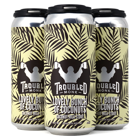 TROUBLED MONK LOVELY BUNCH OF COCONUTS COCONUT MILK STOUT 4C
