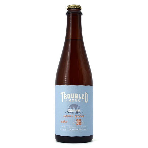 TROUBLED MONK HARRY DUNNE FOEDER AGED GOLDEN SOUR 500ML