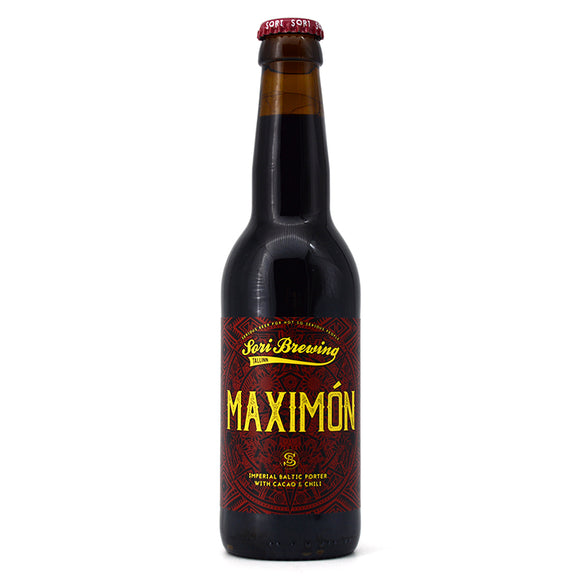 SORI MAXIMON IMPERIAL BALTIC PORTER WITH CACAO & CHILI 330ML