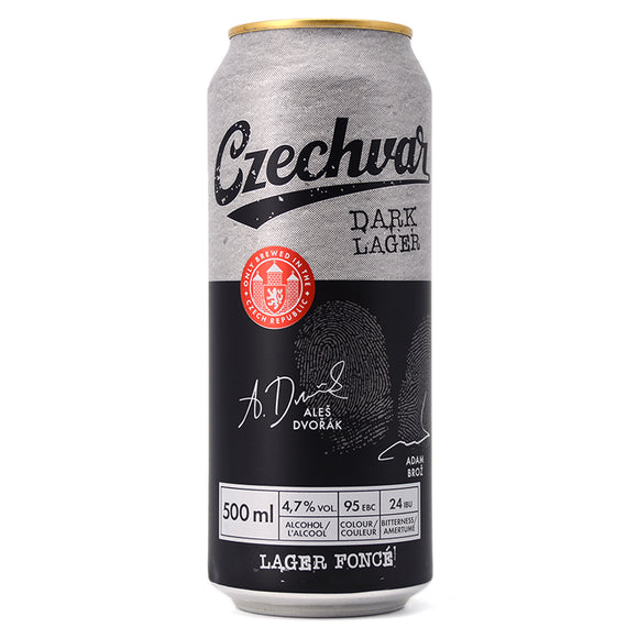 CZECHVAR DARK LAGER 500ML