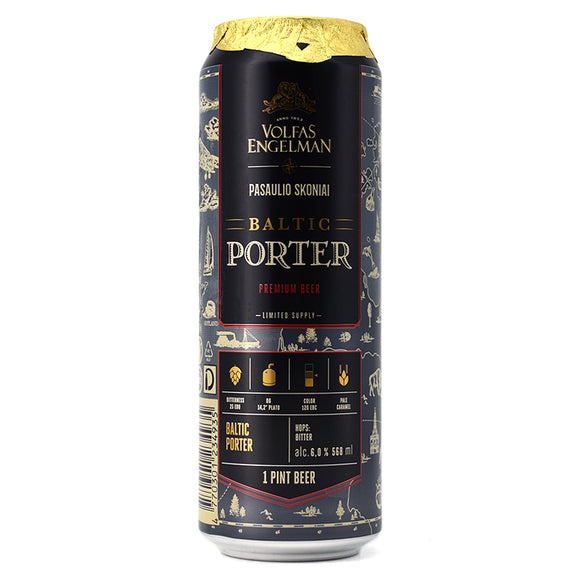 VOLFAS ENGELMAN BALTIC PORTER 568ML