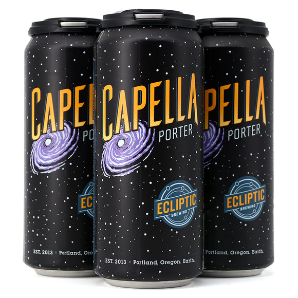 ECLIPTIC BREWING CAPELLA PORTER 4C