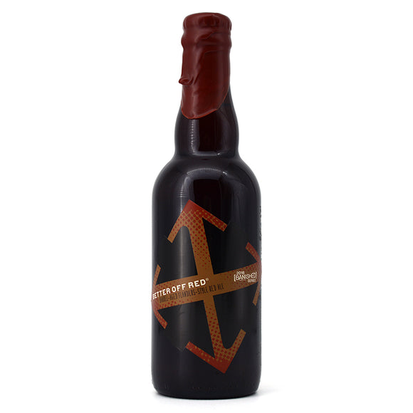 CRUX BETTER OFF RED BARREL AGED FLANDERS STYLE RED ALE 375ML