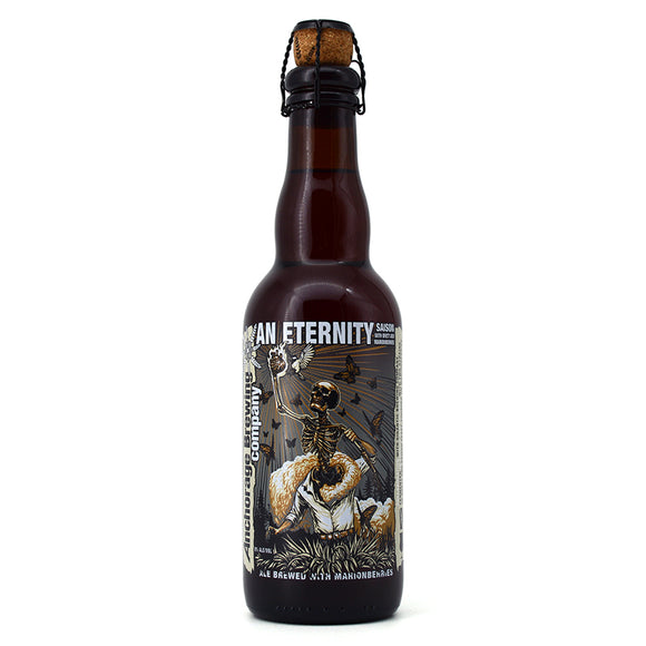 ANCHORAGE AN ETERNITY SAISON WITH BRETT AND MARIONBERRIES 375ML