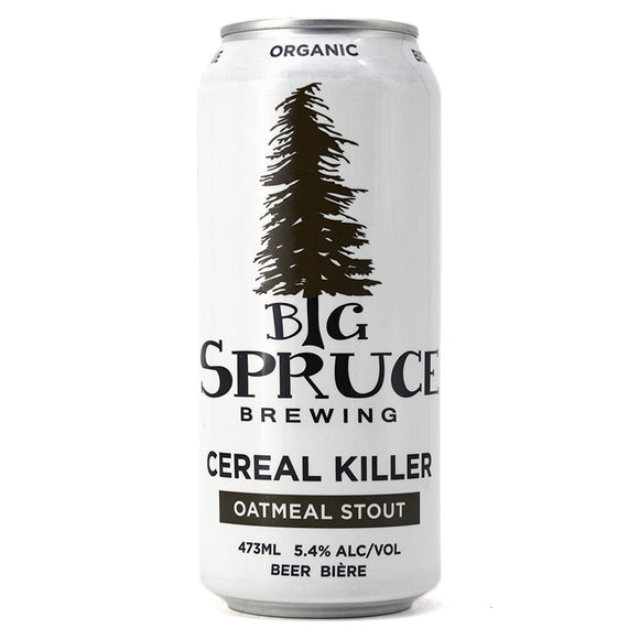 BIG SPRUCE CEREAL KILLER OATMEAL STOUT 473ML