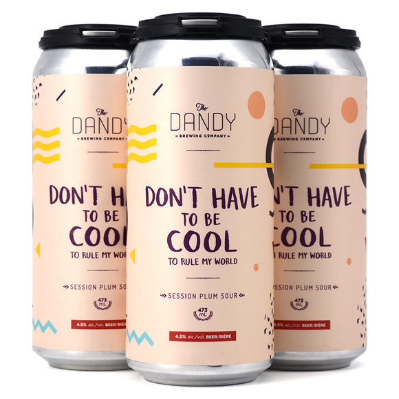 DANDY DON'T HAVE TO BE COOL SESSION PLUM SOUR 4C
