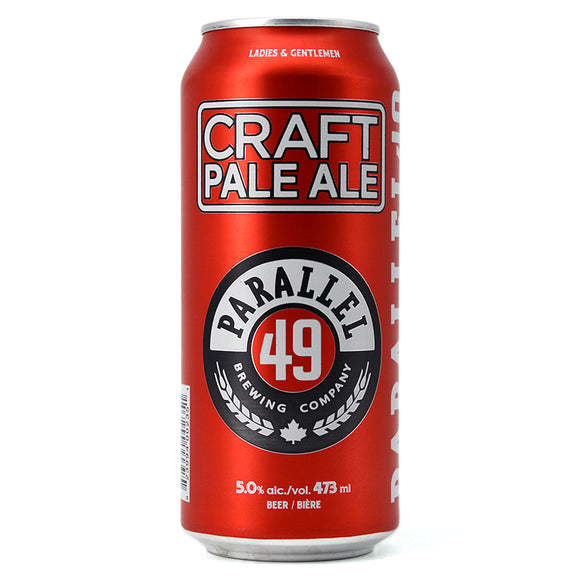PARALLEL 49 CRAFT PALE ALE 473ML