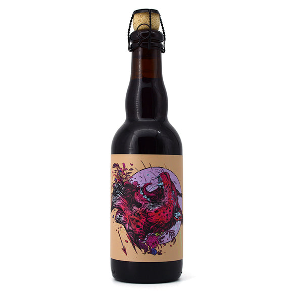 ANCHORAGE SCREAM SOUR ALE AGED IN OAK FINISHED ON HASKAP BERRIES 375ML