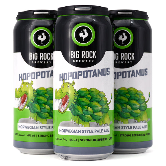 BIG ROCK HOPOPOTAMUS NORWEIGAN PALE ALE 4C