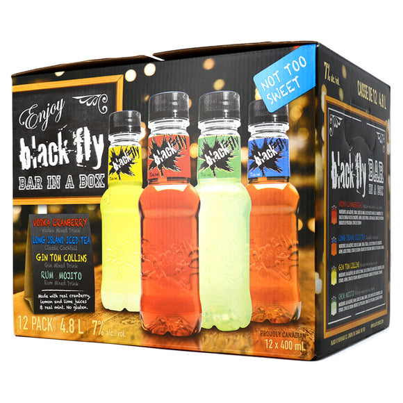 BLACK FLY BAR IN A BOX 12B