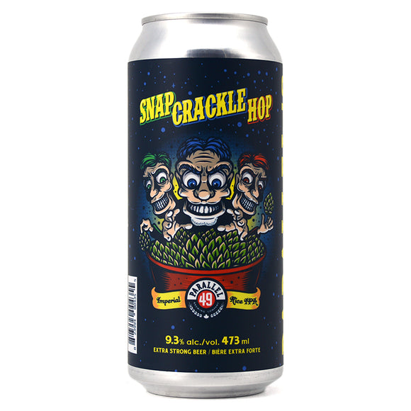 PARALLEL 49 SNAP CRACKLE HOP IMPERIAL RICE IPA 473ML