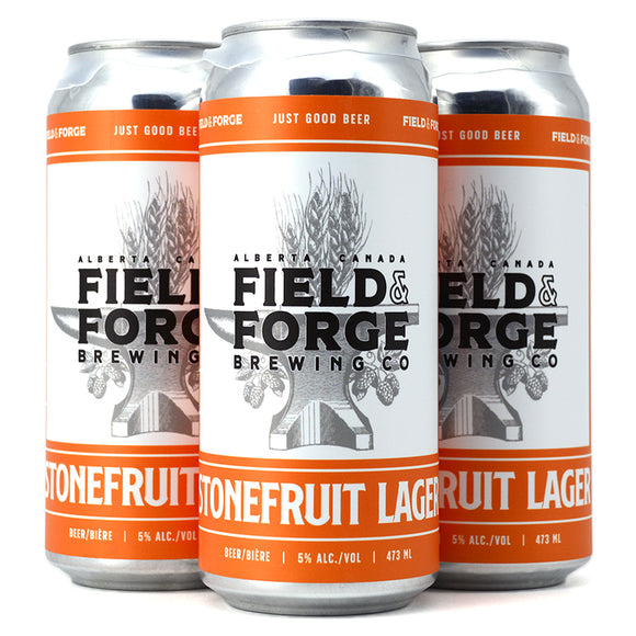 FIELD & FORGE STONEFRUIT LAGER 4C
