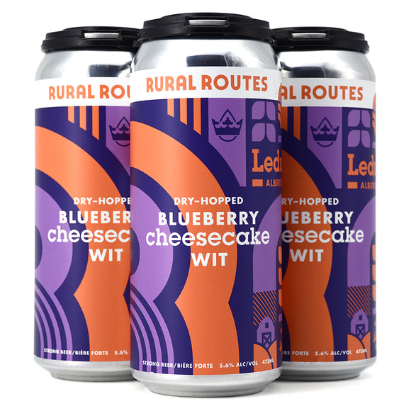 RURAL ROUTES DRY HOPPED BLUEBERRY CHEESECAKE WIT 4C