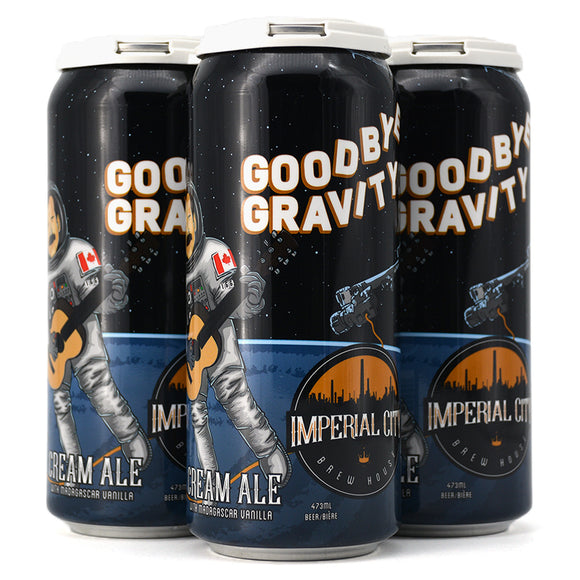 IMPERIAL CITY GOODBYE GRAVITY CREAM ALE 4C
