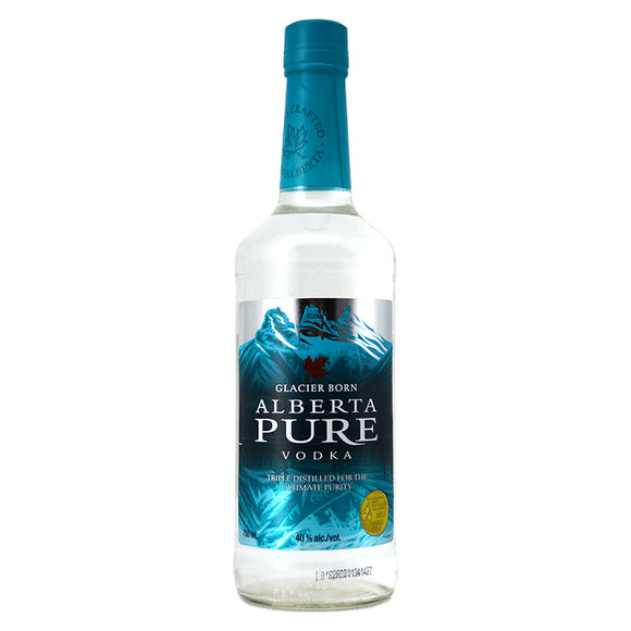 ALBERTA PURE VODKA 750ML