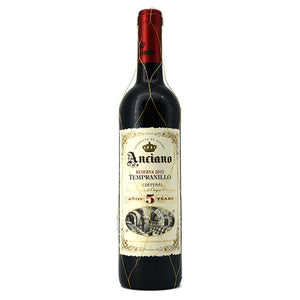 ANCIANO RESERVA TEMPRANILLO 5 YEARS