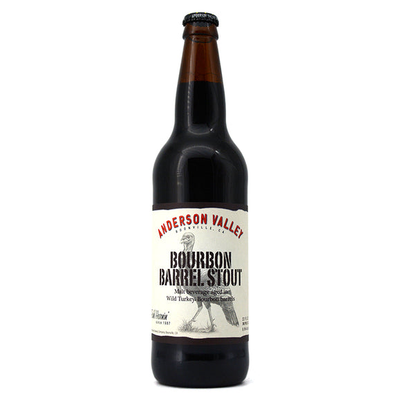 ANDERSON VALLEY WILD TURKEY BOURBON BARREL AGED STOUT 650ML
