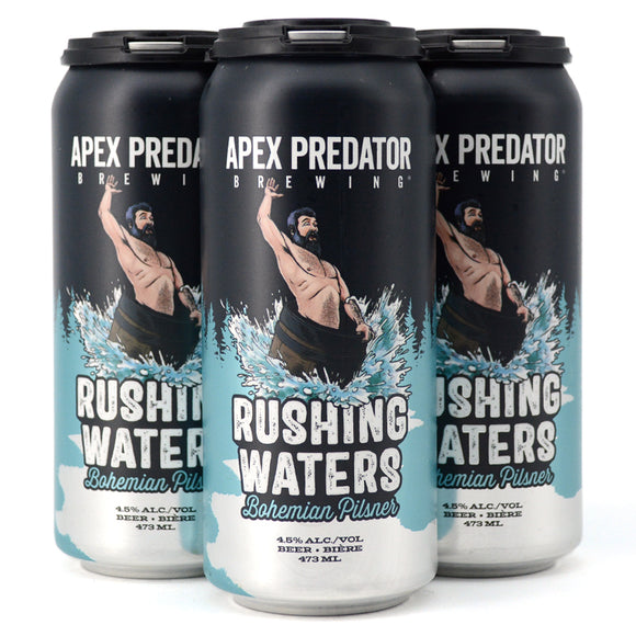 APEX PREDATOR RUSHING WATERS BOHEMIAN PILSNER 4C