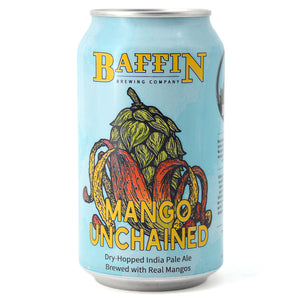 BAFFIN MANGO UNCHAINED DRY HOPPED IPA WITH MANGO 355ML