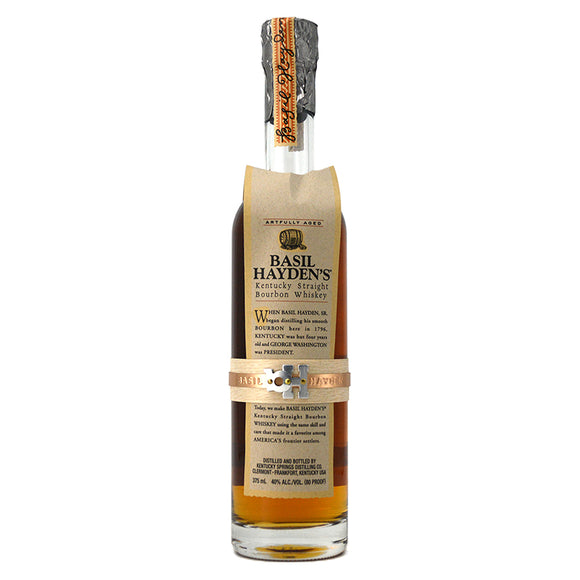 BASIL HAYDEN'S KENTUCKY STRAIGHT BOURBON 375ML
