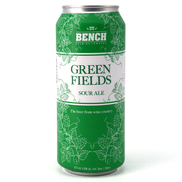 BENCH GREEN FIELDS SOUR ALE 473 mL