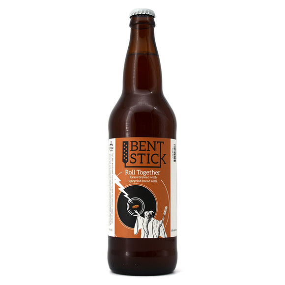 BENT STICK ROLL TOGETHER KVASS BREWED WITH UPCYCLED BREAD ROLLS 650ML