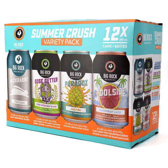 BIG ROCK SUMMER CRUSH VARIETY PACK 12C