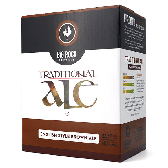 BIG ROCK TRADITIONAL ALE 6B