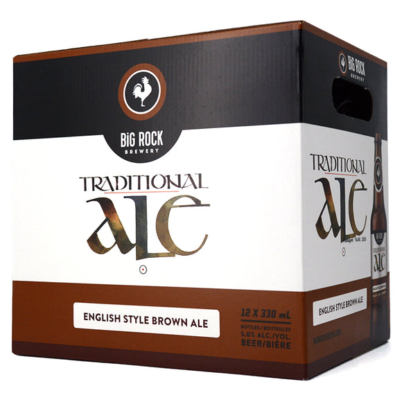 BIG ROCK TRADITIONAL ALE 12B