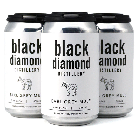 BLACK DIAMOND EARL GREY MULE 4C