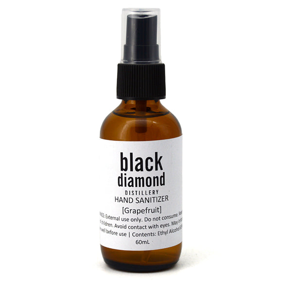 BLACK DIAMOND HAND SANITIZER GRAPEFRUIT 60ML