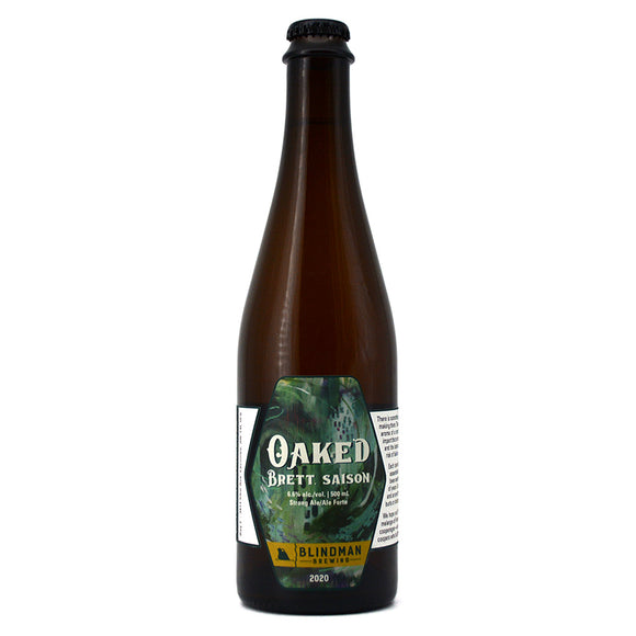 BLINDMAN OAKED BRETT SAISON 2020 500ML