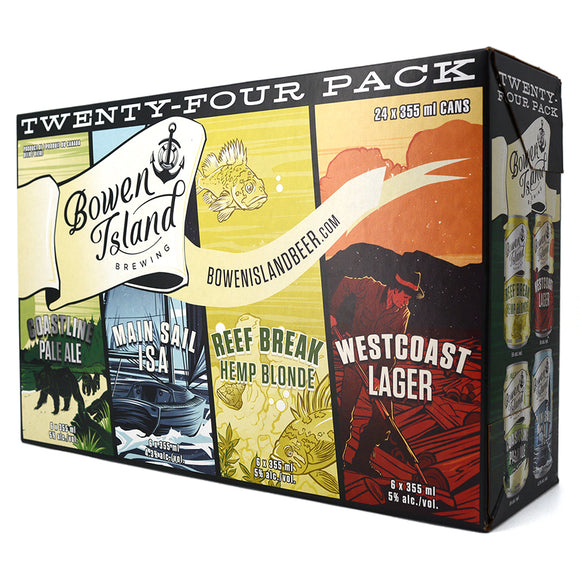 BOWEN ISLAND TWENTY-FOUR PACK MIXER 24C
