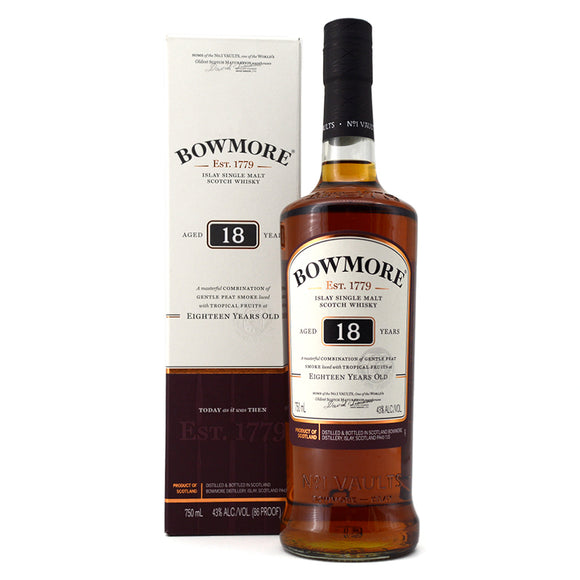 BOWMORE 18 YEARS OLD 750ML