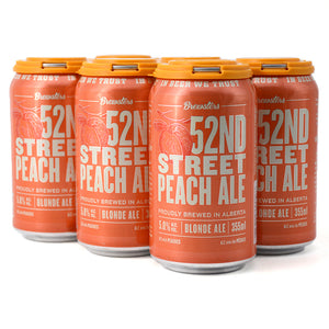 BREWSTERS 52ND STREET PEACH ALE 6C