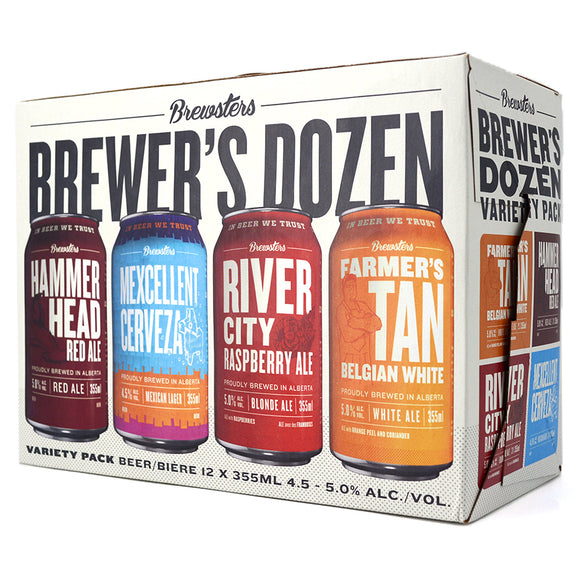 BREWSTERS BREWER'S DOZEN 12C