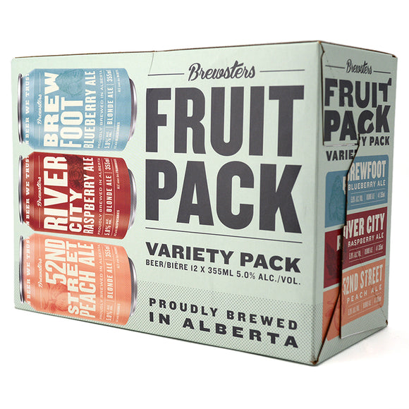 BREWSTERS FRUIT PACK 12C