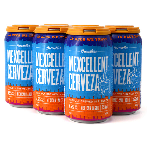 BREWSTERS MEXCELLENT CERVEZA MEXICAN LAGER 6C
