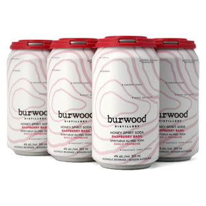 BURWOOD HONEY SPIRIT SODA RASPBERRY BASIL 6C