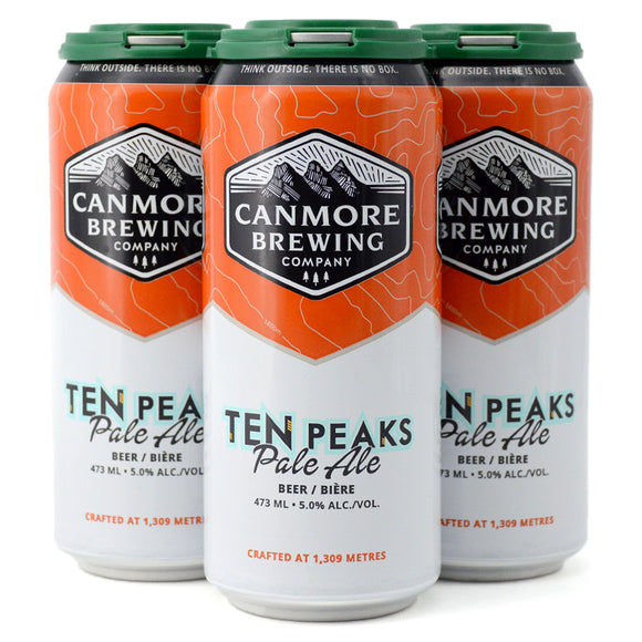 CANMORE TEN PEAKS PALE ALE 4C