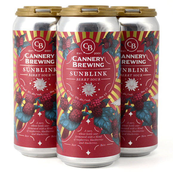CANNERY BREWING SUNBLINK BERRY SOUR 4C