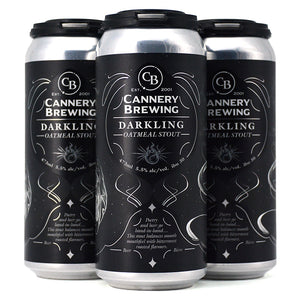 CANNERY BREWING DARKLING OATMEAL STOUT 4C